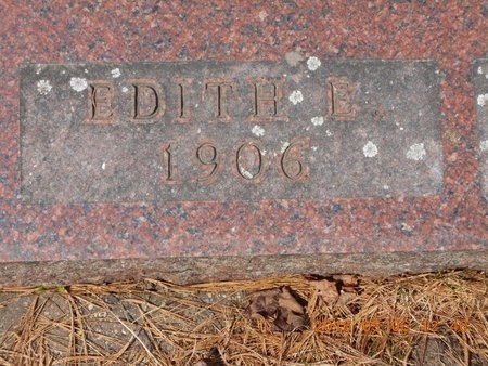 CARLSON, EDITH E. - Marquette County, Michigan | EDITH E. CARLSON - Michigan Gravestone Photos