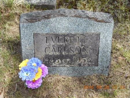CARLSON, EVERETT - Marquette County, Michigan | EVERETT CARLSON - Michigan Gravestone Photos