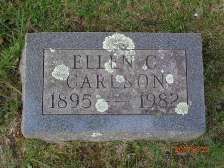 CARLSON, ELLEN C. - Marquette County, Michigan   ELLEN C. CARLSON - Michigan Gravestone Photos