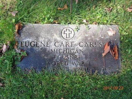 CARLSON, EUGENE CARL - Marquette County, Michigan | EUGENE CARL CARLSON - Michigan Gravestone Photos