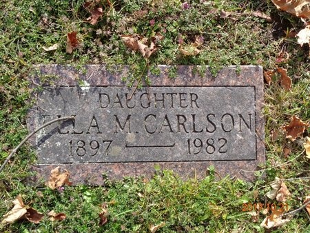 CARLSON, ELLA M. - Marquette County, Michigan | ELLA M. CARLSON - Michigan Gravestone Photos