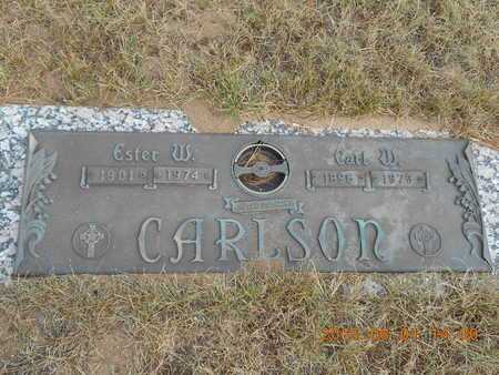 CARLSON, CARL W. - Marquette County, Michigan | CARL W. CARLSON - Michigan Gravestone Photos