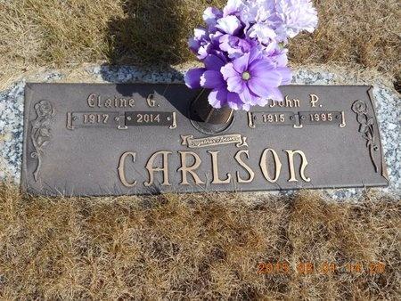 CARLSON, ELAINE G. - Marquette County, Michigan   ELAINE G. CARLSON - Michigan Gravestone Photos