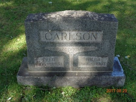 CARLSON, FRED - Marquette County, Michigan | FRED CARLSON - Michigan Gravestone Photos