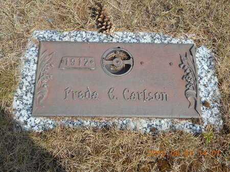 CARLSON, FREDA E. - Marquette County, Michigan   FREDA E. CARLSON - Michigan Gravestone Photos