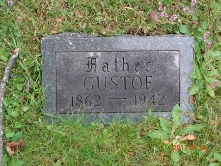 CARLSON, GUSTOF - Marquette County, Michigan | GUSTOF CARLSON - Michigan Gravestone Photos
