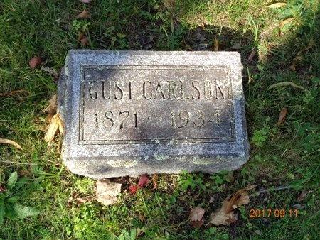 CARLSON, GUST - Marquette County, Michigan   GUST CARLSON - Michigan Gravestone Photos