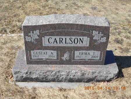 CARLSON, ERMA T. - Marquette County, Michigan   ERMA T. CARLSON - Michigan Gravestone Photos