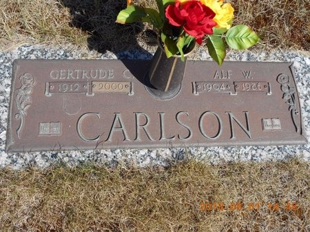 CARLSON, ALF W. - Marquette County, Michigan | ALF W. CARLSON - Michigan Gravestone Photos