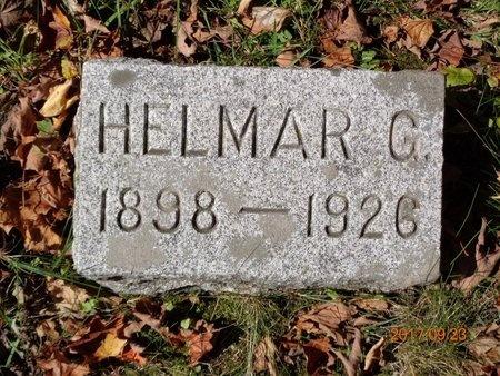 CARLSON, HELMAR G. - Marquette County, Michigan | HELMAR G. CARLSON - Michigan Gravestone Photos