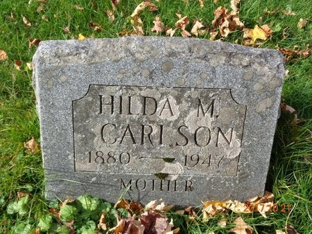 CARLSON, HILDA M. - Marquette County, Michigan | HILDA M. CARLSON - Michigan Gravestone Photos