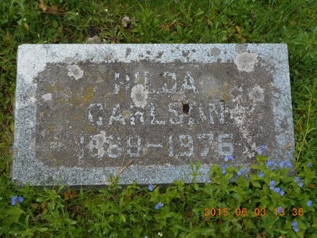 CARLSON, HILDA - Marquette County, Michigan | HILDA CARLSON - Michigan Gravestone Photos