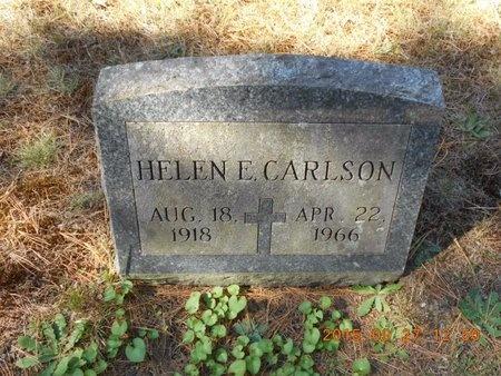 CARLSON, HELEN E. - Marquette County, Michigan | HELEN E. CARLSON - Michigan Gravestone Photos