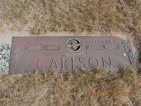 CARLSON, THEODORE C. - Marquette County, Michigan | THEODORE C. CARLSON - Michigan Gravestone Photos