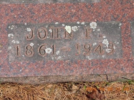 CARLSON, JOHN F. - Marquette County, Michigan | JOHN F. CARLSON - Michigan Gravestone Photos