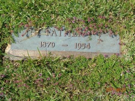 CARLSON, JOHN MAGNUS - Marquette County, Michigan   JOHN MAGNUS CARLSON - Michigan Gravestone Photos