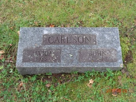 CARLSON, ALVIDA - Marquette County, Michigan | ALVIDA CARLSON - Michigan Gravestone Photos