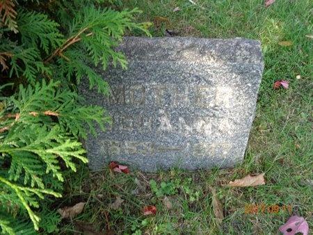 CARLSON, JOHANNA - Marquette County, Michigan | JOHANNA CARLSON - Michigan Gravestone Photos