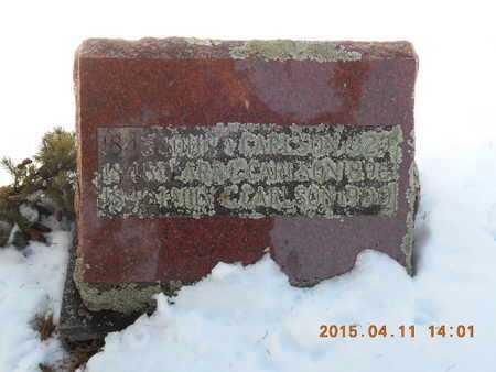 CARLSON, JOHN A. - Marquette County, Michigan | JOHN A. CARLSON - Michigan Gravestone Photos