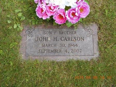 CARLSON, JOHN H. - Marquette County, Michigan | JOHN H. CARLSON - Michigan Gravestone Photos