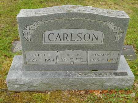 CARLSON, NORMAN A. - Marquette County, Michigan | NORMAN A. CARLSON - Michigan Gravestone Photos