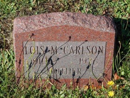 CARLSON, LOIS M. - Marquette County, Michigan | LOIS M. CARLSON - Michigan Gravestone Photos