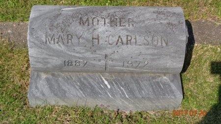CARLSON, MARY H. - Marquette County, Michigan   MARY H. CARLSON - Michigan Gravestone Photos