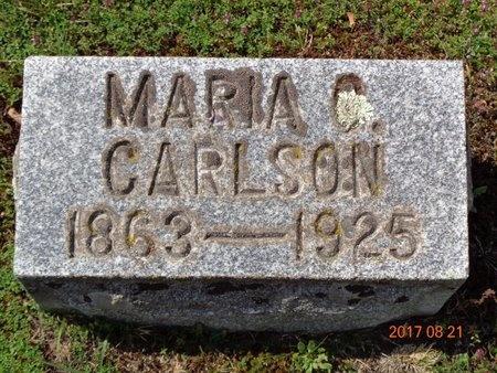 CARLSON, MARIA C. - Marquette County, Michigan | MARIA C. CARLSON - Michigan Gravestone Photos