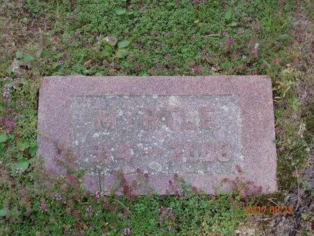 CARLSON, MYRTLE - Marquette County, Michigan   MYRTLE CARLSON - Michigan Gravestone Photos