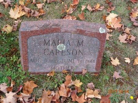 CARLSON, MARIA M. - Marquette County, Michigan | MARIA M. CARLSON - Michigan Gravestone Photos