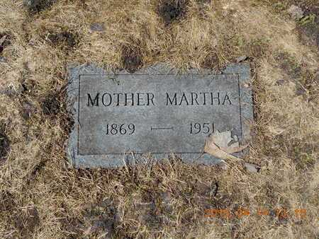 CARLSON, MARTHA - Marquette County, Michigan | MARTHA CARLSON - Michigan Gravestone Photos