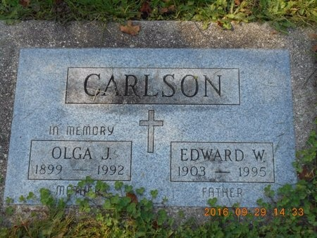 CARLSON, EDWARD W. - Marquette County, Michigan | EDWARD W. CARLSON - Michigan Gravestone Photos
