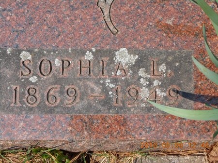 CARLSON, SOPHIA - Marquette County, Michigan | SOPHIA CARLSON - Michigan Gravestone Photos
