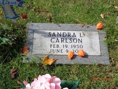 CARLSON, SANDRA L. - Marquette County, Michigan   SANDRA L. CARLSON - Michigan Gravestone Photos