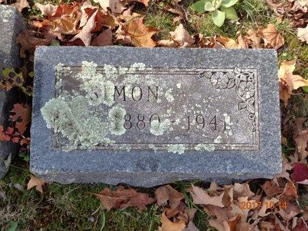 CARLSON, SIMON - Marquette County, Michigan | SIMON CARLSON - Michigan Gravestone Photos