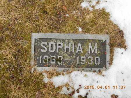 CARLSON, SOPHIA MATHILDA - Marquette County, Michigan | SOPHIA MATHILDA CARLSON - Michigan Gravestone Photos