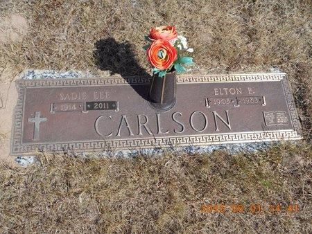 CARLSON, ELTON B. - Marquette County, Michigan | ELTON B. CARLSON - Michigan Gravestone Photos