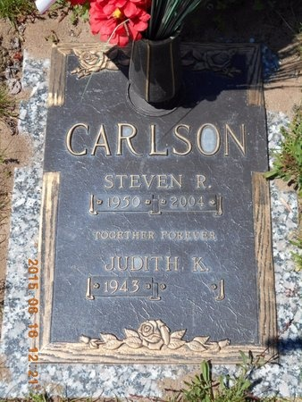 CARLSON, JUDITH K. - Marquette County, Michigan | JUDITH K. CARLSON - Michigan Gravestone Photos