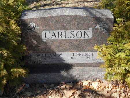 CARLSON, FLORENCE V. - Marquette County, Michigan | FLORENCE V. CARLSON - Michigan Gravestone Photos