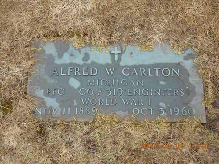 CARLTON, ALFRED W. - Marquette County, Michigan | ALFRED W. CARLTON - Michigan Gravestone Photos