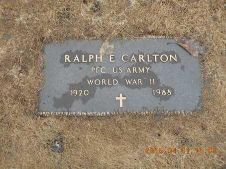 CARLTON, RALPH E. - Marquette County, Michigan | RALPH E. CARLTON - Michigan Gravestone Photos