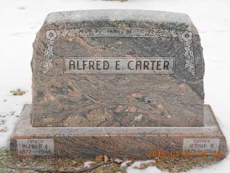 CARTER, ALFRED E. - Marquette County, Michigan | ALFRED E. CARTER - Michigan Gravestone Photos