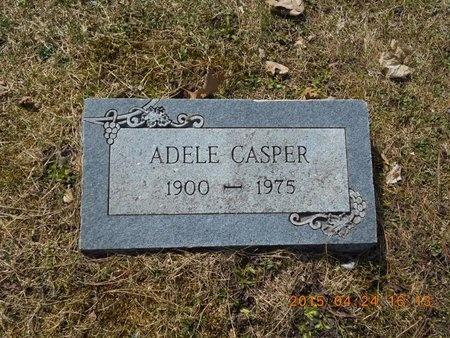 CASPER, ADELE - Marquette County, Michigan | ADELE CASPER - Michigan Gravestone Photos