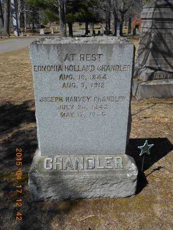 HOLLAND CHANDLER, EDMONIA - Marquette County, Michigan | EDMONIA HOLLAND CHANDLER - Michigan Gravestone Photos