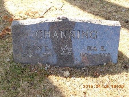 CHANNING, IDA E. - Marquette County, Michigan | IDA E. CHANNING - Michigan Gravestone Photos