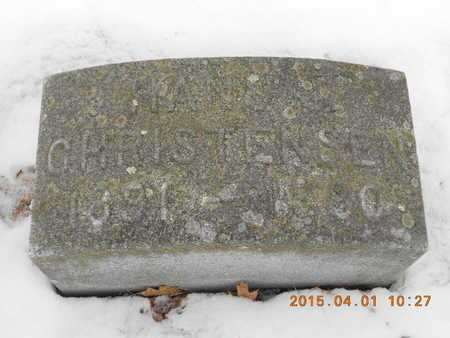 CHRISTENSEN, HANS J. - Marquette County, Michigan | HANS J. CHRISTENSEN - Michigan Gravestone Photos