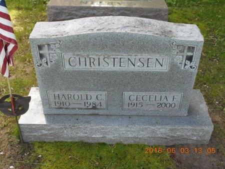 CHRISTENSEN, HAROLD C. - Marquette County, Michigan   HAROLD C. CHRISTENSEN - Michigan Gravestone Photos