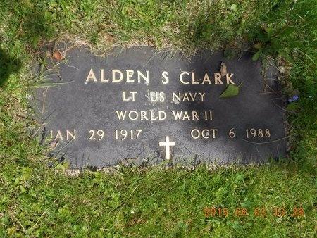 CLARK, ALDEN S. - Marquette County, Michigan   ALDEN S. CLARK - Michigan Gravestone Photos