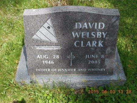 CLARK, DAVID WELSBY - Marquette County, Michigan | DAVID WELSBY CLARK - Michigan Gravestone Photos
