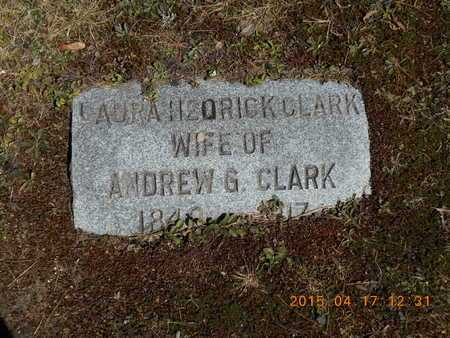 CLARK, LAURA - Marquette County, Michigan | LAURA CLARK - Michigan Gravestone Photos